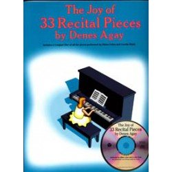 JOY OF 33 RECITAL PIECES CD Editions Yortown music press