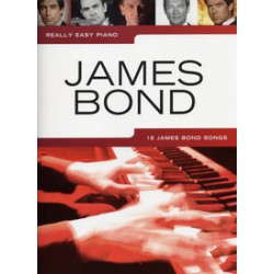 REALLY EASY PIANO JAMES BOND 16 Songs Editions WISE PUBLICATIONS