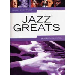 REALLY EASY PIANO JAZZ GREATS Editions WISE PUBLICATIONS face