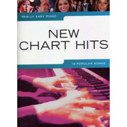 REALLY EASY PIANO NEW CHARTS HITS Editions WISE PUBLICATIONS face