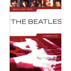 BEATLES REALLY EASY PIANO 23 GREAT HITS Editions WISE PUBLICATIONS