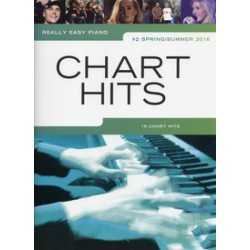 REALLY EASY PIANO CHART HITS #2 Spring/Summer 2016 Editions WISE PUBLICATIONS gauche
