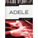 photo de ADELE REALLY EASY PIANO Nouvelle Edition Editions WISE PUBLICATIONS dessus