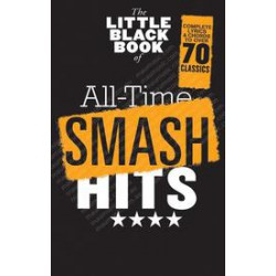 LITTLE BLACK BOOK ALL TIME SMASH HITS 70 classics de la pop Editions WISE PUBLICATIONS