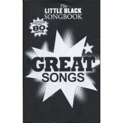 LITTLE BLACK BOOK GREAT SONGS 80 HITS Editions WISE PUBLICATIONS