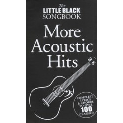 LITTLE BLACK BOOK MORE ACOUSTIC HITS Editions MUSIC SALES