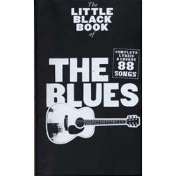 LITTLE BLACK BOOK OF THE BLUES Editions WISE PUBLICATIONS