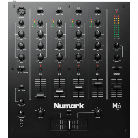 table de mixage numark m6