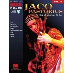 PASTORIUS JACO / PLAY ALONG VOL 50 POUR BASSE + CD Editions HAL LEONARD