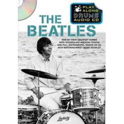 BEATLES PLAY ALONG DRUMS AUDIO CD Editions WISE PUBLICATIONS arriere