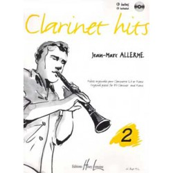 Clarinet hits Vol.2 Editions HENRY LEMOINE droite