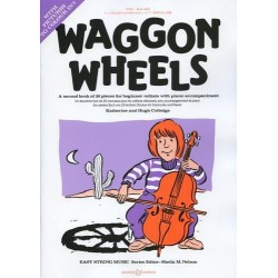 WAGGON WHEELS et CD VIOLONCELLE Editions BOOSEY and HAWKES cote