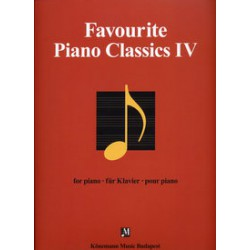 FAVOURITE PIANO CLASSICS Vol.4 PARTITION
