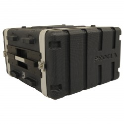 FORCE 3 FLIGHT CASE ABS 6U PROEL arriere