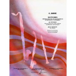 ROSE 26 ETUDES Editions GERARD BILLAUDOT