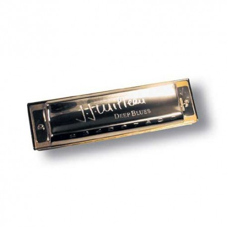 HARMONICA MS JJ MILTEAU DEEP BLUES C  HOHNER face