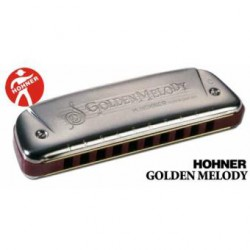 HARMONICA GOLDEN MELODY 10 TROUS G HOHNER