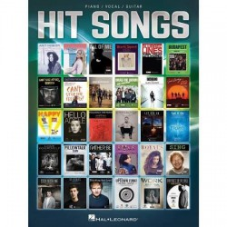Hit Songs PIANO VOCAL GUITAR Editions HAL LEONARD cote