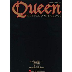 Queen Deluxe Anthology Editions HAL LEONARD face