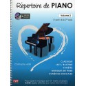 photo de REPERTOIRE DE PIANO VOL 2 + CD Editions F2M droite