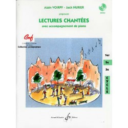 LECTURES CHANTEES CYCLE 2 + CD Editions GERARD BILLAUDOT dessus