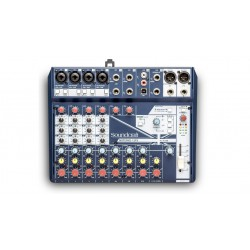 NotePad 12FX SOUNDCRAFT gauche