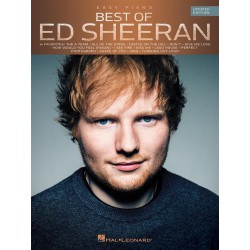 Best of Ed Sheeran (updated edition) Editions HAL LEONARD gauche