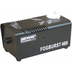 FOGBURST400W POWER MACHINE A FUMEE face