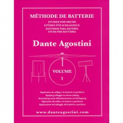 METHODE DE BATTERIE VOL 1 Editions AGOSTINI face
