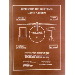 METHODE DE BATTERIE VOL 3 Editions AGOSTINI cote