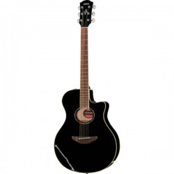 APX600-BL GUITARE ACOUSTIQUE BLACK arriere