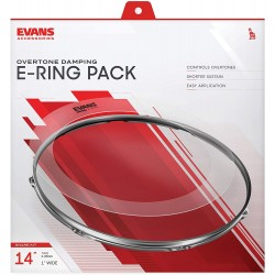 SNARE e-rings caisse claire 14 EVANS arriere
