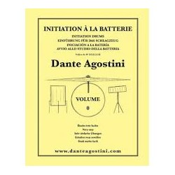 INITIATION A LA BATTERIE VOL 0 Editions AGOSTINI arriere