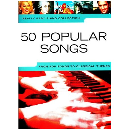 REALLY EASY PIANO / 50 POPULAR SONGS droite