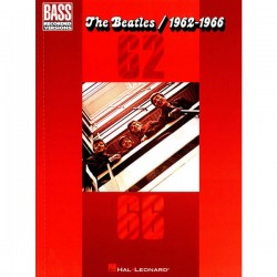 THE BEATLES / 1962-1966 ROUGE BASSE TAB droite