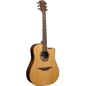 photo de T118DCE GUITARE TRAMONTANE DREADNOUGHT CUTAWAY ELECTRO cote