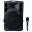 photo de ASH-1200 ENCEINTE AUTONOME AMPLIFIEE + 1 MIC HF MAIN +BT