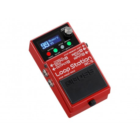 BOSS RC-5 EFFET PEDALE LOOP STATION face