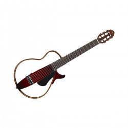 SLG200N-CRB GUITARE NYLON SILENT ROUGE + HOUSSE face