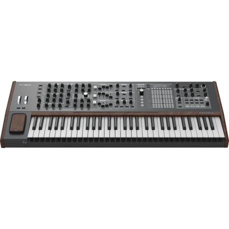 POLYBRUTE SYNTHETISEUR ANALOGIQUE dessus