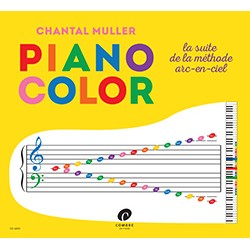 MULLER - SIMMERLING / LE PIANO COLOR METHODE PIANO 4/7 ANS
