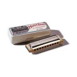 HARMONICA MARINE BAND B 1896/20 HOHNER arriere