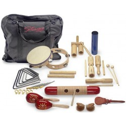 CPJ-05 KIT PERCUSSIONS JUNIOR AVEC SAC DE TRANSPORT STAGG