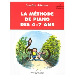 ALLERME / LA METHODE DE PIANO 4-7 Editions HENRY LEMOINE