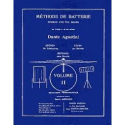 METHODE DE BATTERIE VOL 2 Editions AGOSTINI gauche