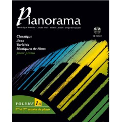 PIANORAMA VOL 1A + CD HIT DIFFUSION gauche