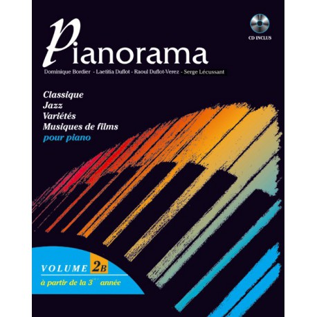 PIANORAMA VOL 2B HIT DIFFUSION arriere