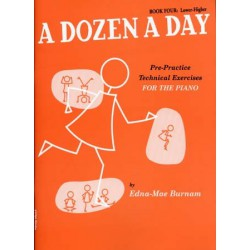 BURNAM / A DOZEN A DAY VOL 4 ID MUSIC