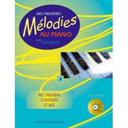 LE COZ / MES PREMIERES MELODIES AU PIANO VOL 2 PARTITION