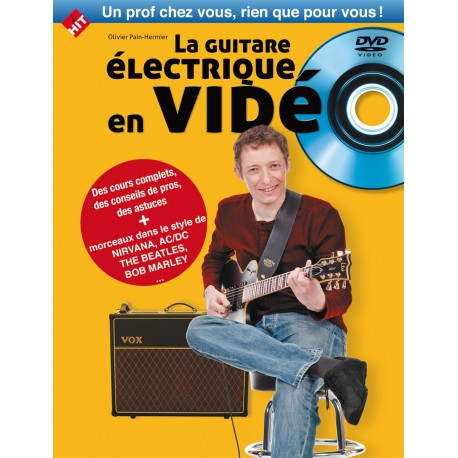 LA GUITARE ELECTRIQUE EN VIDEO + DVD HIT DIFFUSION dessus